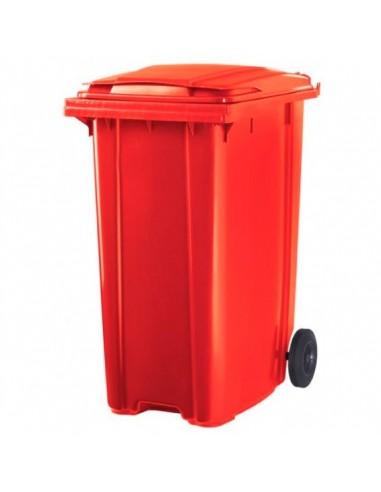 Contenedor Basura 360 Lts Rojo Gt