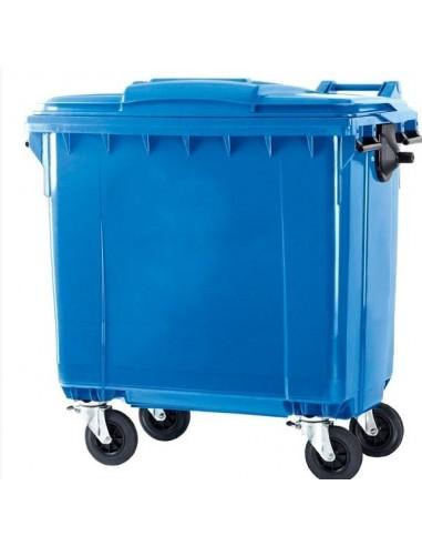 Contenedor industrial de residuos...