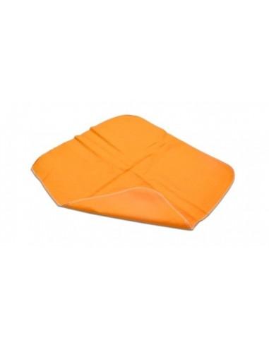 Paño moletón naranjo